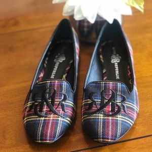 NWOT Rock & Republic Plaid Flats